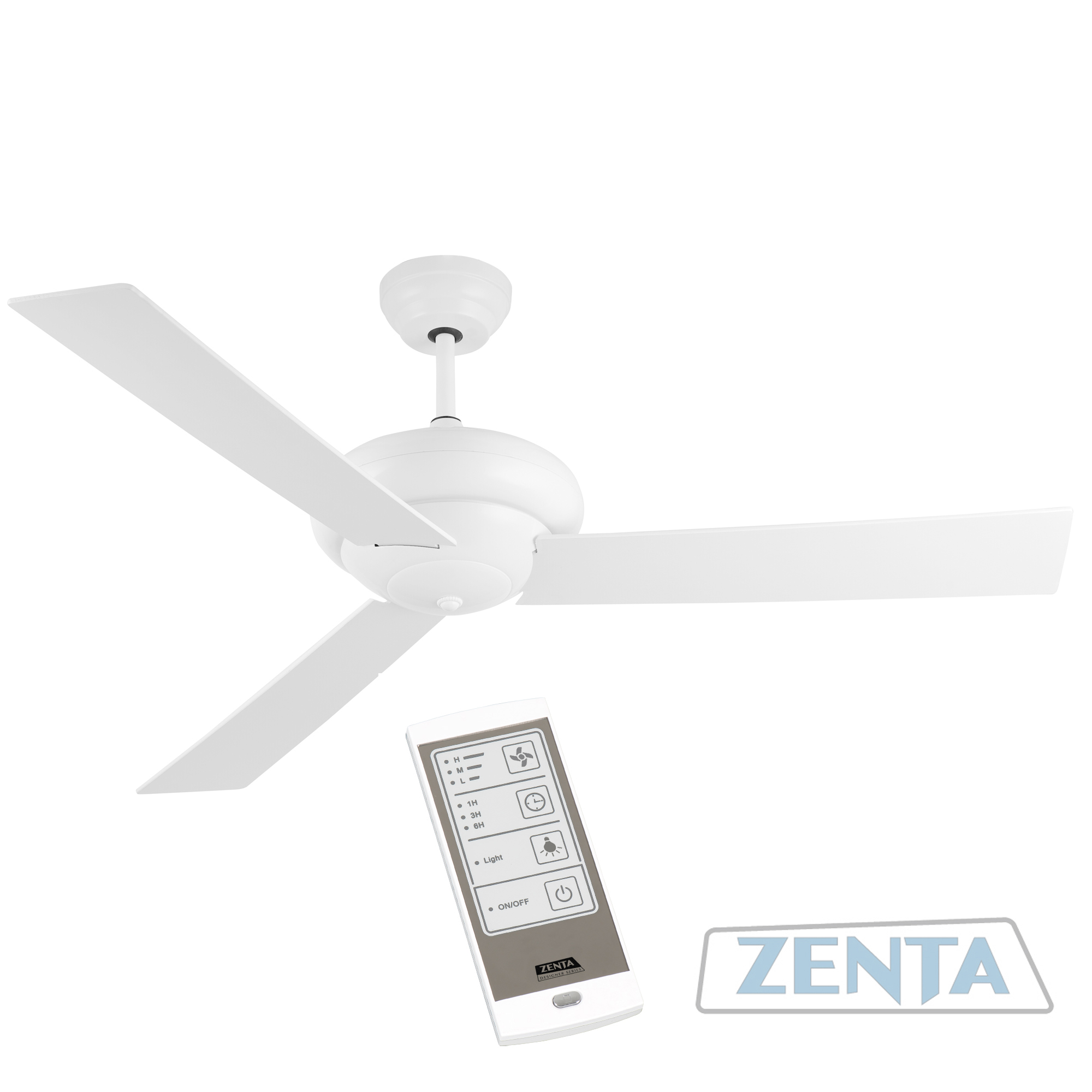 Levanto 130cm 3 Blade Ceiling Fan Touch Remote